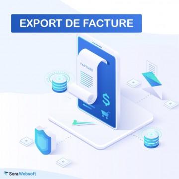 Module Export de Factures en CSV pour PrestaShop