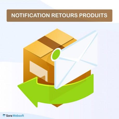 Module Notification Retours Produits