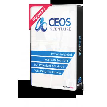 CEOS INVENTAIRE révolutionne l'inventaire PrestaShop des Commerçants et des E-Commerçants !