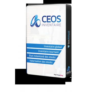 Mise à jour pour le module inventaire PrestaShop, CEOS Inventaire