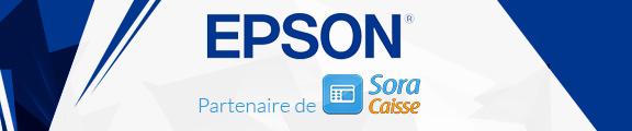 Sora Caisse partenaire officiel EPSON